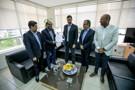 Presidente Laerte Gomes faz entrega oficial da reforma administrativa da Assembleia ao Tribunal de Contas