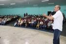 Ismael Crispin prestigia lançamento das obras do IFRO em São Miguel do Guaporé