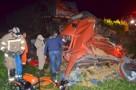 Motorista morre após colisão entre caminhões na BR-364