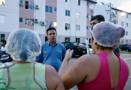 Vereador Edésio Fernandes busca apoio para ambulantes e iluminação no Ulisses Guimarães