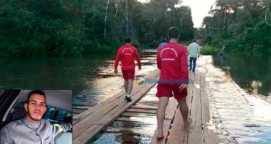 Eletricista morre afogado após carro cair em rio