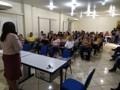 Vereadora Joelna Holder acompanha posse de novos profissionais da educação