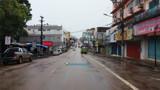 Vídeo: Lojas da 7 de Setembro fecham, mas comércio da Zona Leste ainda resiste após proibições do Governo