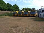 Vereadora Joelna Holder acompanha chegada de ônibus escolares em Porto Velho