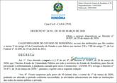 Decreto do governador prorroga suspensão de aulas também na rede privada
