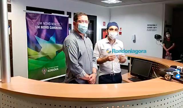 Vídeo: Rondônia recebe 4.800 testes que detectam Coronavírus em 15 minutos,