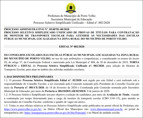 Prefeitura de Porto Velho divulga edital para seleção de 146 monitores de ônibus escolares