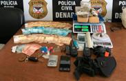 Denarc prende condenado com 4 quilos de maconha