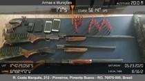 PM prende três homens com armas e munições