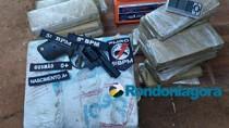 Policiais do  5° BPM prendem seis com mais de 60 quilos de droga na Capital