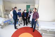 Leitos de UTI alugados com recursos da Assembleia começam a funcionar no Hospital de Amor