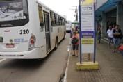 Restrição de trânsito: Ônibus que começaram a circular foram parados e encaminhados para garagens