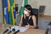 Prefeita de Cacoal não concorda com o Governo, pede reconsideração e mantém comércio aberto