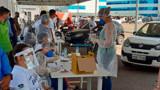 Testes realizados em drive thru revelam 261 infectados em Porto Velho