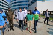 Drive thru: Sargento Eyder Brasil acompanhou a 2ª testagem rápida do coronavírus na Capital