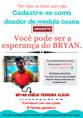 Família faz campanha em busca de doadores de sangue e medula para salvar jovem