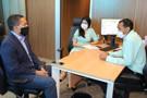 Deputado Eyder Brasil se reúne com secretário adjunto da Sesau, em busca de melhorias