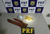 PRF prende dupla com barras de ouro avaliadas em quase R$ 600 mil