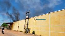 Vídeo: Incêndio destrói parte do prédio do antigo supermercado Gonçalves em Porto Velho