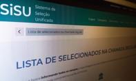 MEC divulga resultado do Sisu do segundo semestre deste ano