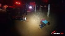 Assaltante é baleado durante troca de tiros com a PM