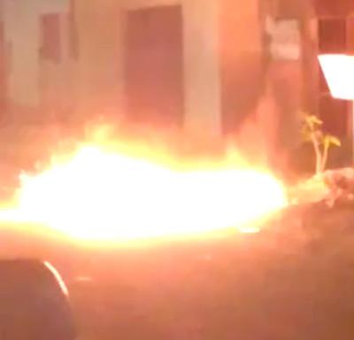 Vídeo: Esquadrão Antibombas explode granada que era utilizada por crianças em brincadeira