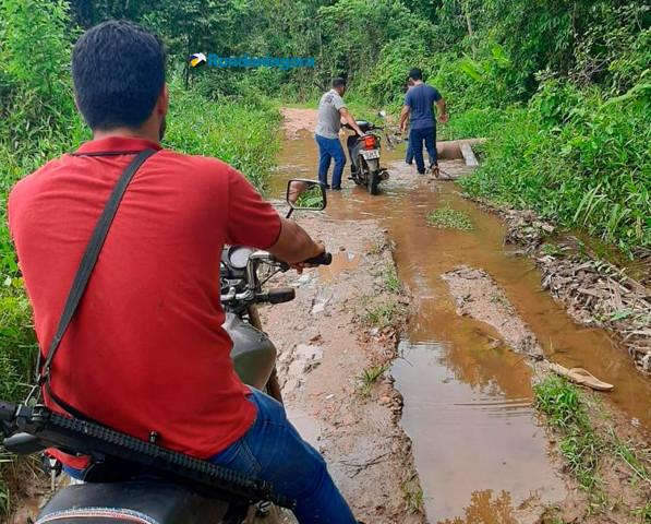Polícia age na Zona Rural e localiza moto adulterada