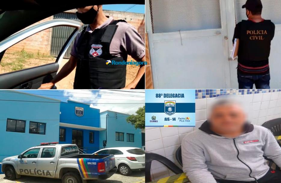 Ex-sargento condenado por abuso sexual em Porto Velho é preso em Pernambuco