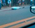 Motociclista é atropelado após a ponte do rio Madeira e morre no local