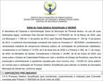 Pimenta Bueno abre seleção e oferece 22 cargos