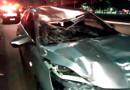 Ciclista morre atropelado por carro em alta velocidade no Espaço Alternativo