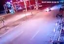 Vídeo mostra acidente que matou ciclista no Espaço Alternativo; carro estava em alta velocidade