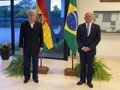Coronel Chrisóstomo discute ações com embaixador da Bolívia para gerar emprego e renda em Rondônia