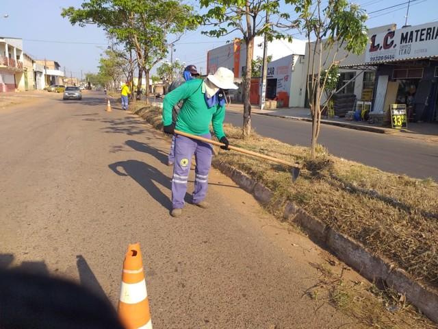 Prefeitura da Capital intensifica trabalho para manter a cidade limpa