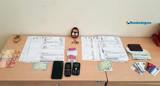 """Homem é preso após tentar abrir conta em banco com """"kit"""" de estelionato"""