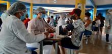 Força tarefa no Bairro Socialista detecta 32 pessoas com Coronavírus
