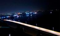 Prefeitura inaugura iluminação na ponte sobre o Rio Madeira