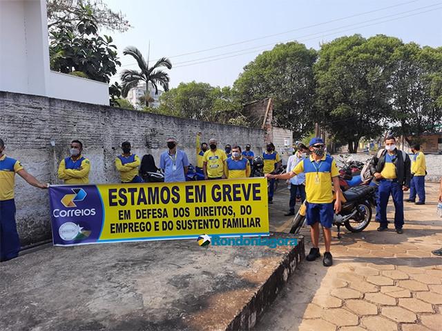 Funcionários dos Correios em Rondônia também entram em greve