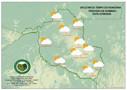 Depois de madrugada fria, temperatura fica amena no sábado e volta a subir domingo