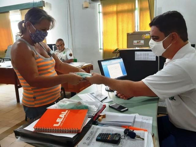 Máscaras são distribuídas pela Emater em Ji-Paraná