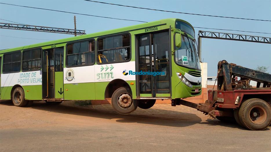 Justiça de Minas manda apreender 22 ônibus do transporte coletivo em Porto Velho