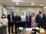 Cofen apresenta demandas da Enfermagem ao ministro da Saúde