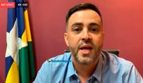Vídeo: Léo Moraes abre mão da candidatura a prefeito de Porto Velho
