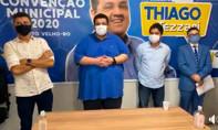 Vídeo: ex-presidente da Emdur Thiago Tezzari retira pré-candidatura e PSD vai apoiar Hildon