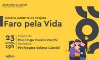 Faro Pela Vida: evento online debate prevenção ao suicídio