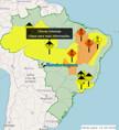 Defesa Civil alerta para chuvas intensas nas próximas horas em Rondônia