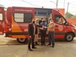 Deputado Alex Silva garante duas unidades de resgate ao Corpo de Bombeiros em Ariquemes e Ji-Paraná.