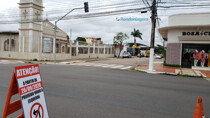 Sentido de tráfego na Campos Sales é alterado
