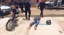 Bandido é preso após arrastão na Zona Sul