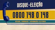 Disque-eleição 148 do TRE-RO funcionará 24 horas por dia